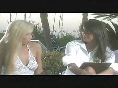 Hot lesbian sex outdoor