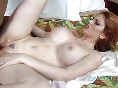 Redhead milf lillith interracial