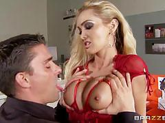 Toni ribas gives the horny milf devon a great gift