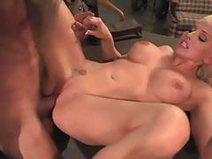 Charley monroe banged by two soldiers