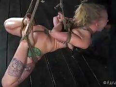 "Hard tied ""mouth ass whore"" with sarah jane ceylon"