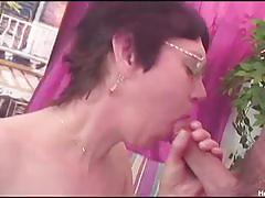 Mature slut wanda gets toyed and nailed