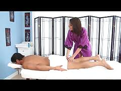 Massage blow with amiee cambridge