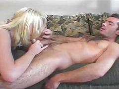 Horny blonde chick missy monroe gets her ass drilled
