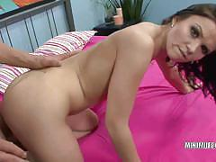 Eastern european hottie ally style gets banged