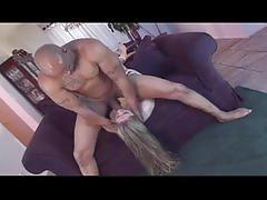 Black dude loves drilling on white ass