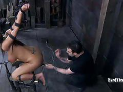 Trina enjoys pleasurable torture