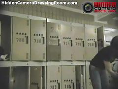 Voyeur hidden camera in dressing room