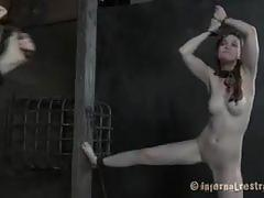 Hazel gets fucked raw at infernal restraints