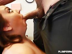Busty bbw brunette kendra lee ryan gets fucked