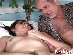 Melanie scott sucks and gets fucked hard