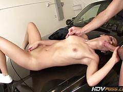 Naughty schoolgirl banged by a policeman