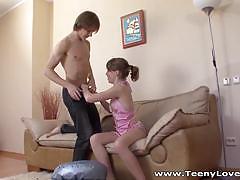 Frisky teen veronica screwed by her boyfriend