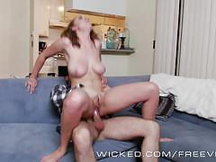 brooke wylde, brunette, hardcore, big tits, busty, babe, reverse cowgirl, doggy style, cowgirl, big boobs, huge tits, beauty, amateur, reality