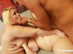 Samantha 38g and nikky wilder get fucked hard