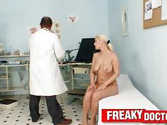 Freaky doctor gyno exam videos of young pussy