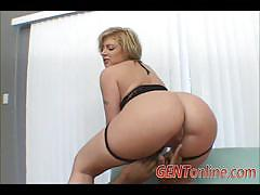 Hot blonde milf velicity von enjoys a black cock