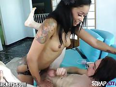 Deviant kade fucks her pathetic slave