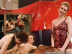 Shooting movie turned to classic orgy