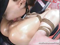 Sexy japanese bdsm tortured