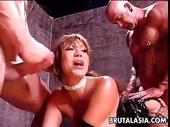 ava devine, asian, hardcore, big tits, anal, milf, busty, double penetration, doggy style, threesome, cowgirl, huge tits, fake tits, mmf, anal sex
