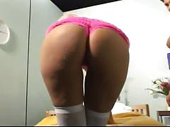 Office secretary ass pumping her boss
