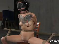 brunette, babe, pussy, bdsm, bondage, girlfriend, shaved pussy, gorgeous, beauty, amateur, ex-girlfriend, black hair, torture, tattoos, painful