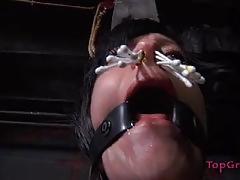 Sister dee tortures horny slave rain degrey