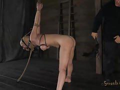 Three nasty sluts get tortured in the dungeon
