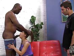 Natasha banged by monster black cock