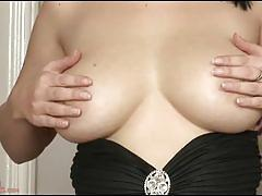 Busty brunette chrissy harris masturbates for you