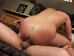 Giant cock whacking nasty blonde pussy for hot fun