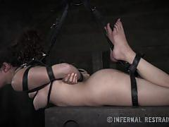 Haley's fervent bondage desires