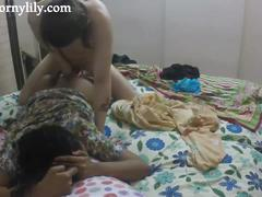Indian sex video of sexy babe lily fucked blowjob sex