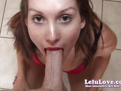 Lelu love-stripper fucks favorite customer