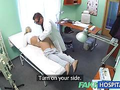 Horny blonde patient loves to fuck