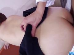 Nakoto kurasaki feels great with a big cock in her