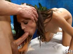 Massage for her and the fuck is so damn hot