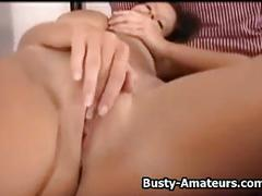 Wendys fingering her pussy in the bedroom