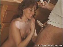 cumshots, handjob, milf, red head, mom, mother, tug, jerky, jerk-off, masturbation, amateur, art, cumshot, girls, hj, real, stroke, theartofhandjobs, redhead