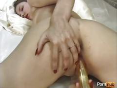 amateur, big tits, blonde, toys, pornhub.com, close-up, gaping, shaved, big-boobs, nylon, ass, booty, upskirt, toy, vibrator, solo, masturbation, dildo