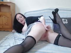 Real french maid hot camshow melissa