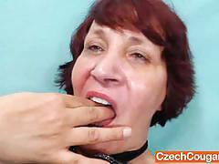 Czech mature manka still got her teasing skills