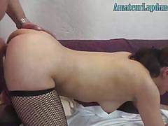 Czech wife loves getting fucked from behind