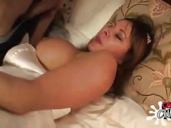 creampie, milf, threesome, bride, double blowjob, spitroasting, more