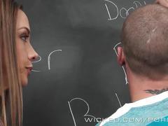 Chanel preston has a unique way of teaching