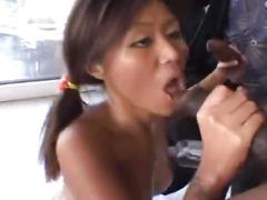 Asian babe gets 4 bbc's