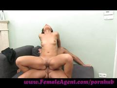 Femaleagent. sexy foot fetish casting