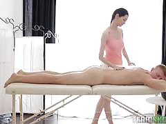 Teen massage goes all the way