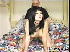 Nasty amateur loves getting fucked from behind